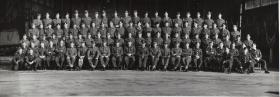 Group Photograph of Parachute Training Course, 1950 (1)