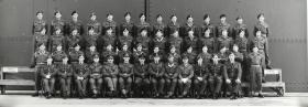 Group Photograph of Parachute Training Course 282