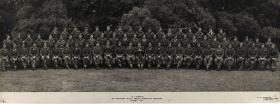 Group Photograph of C Company, 6th Parachute Battalion, August 1945