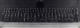 Group Photograph of Parachute Training Course 284