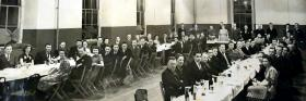 1st Reunion in London of 195 Airlanding Field Ambulance, date unknown.