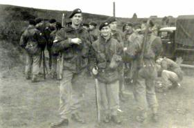 Members of 1 PARA at Ash Ranges, Aldershot, 1951.
