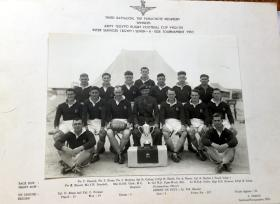 Winners, Army (Egypt) Rugby Football Cup 1952/53 (Seven –A Side), 3 PARA.