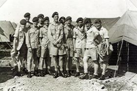Members of A Coy, 1 PARA, Cyprus, 1956.