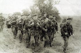 Members of 2 Platoon,  A Coy, 1 PARA, Cyprus, 1956.