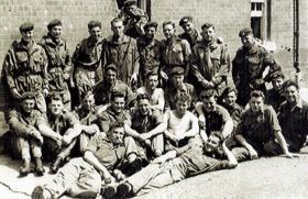Members of 2 Platoon, A Coy, 1 PARA, Aldershot, 1956.