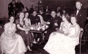Regimental Dinner at Aldershot, 1958.