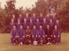 Group photograph of Guards Parachute Company Sports Team 1962-1963