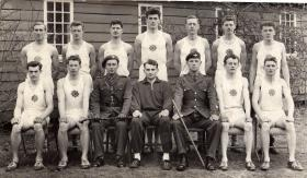 Group photograph of the Guards Parachute Company Cross-country team, 1963