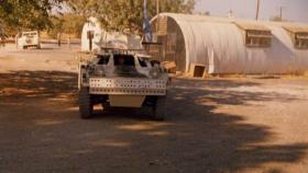 5 Troop, Para Squadron RAC Ferret Scout car at Polemidhia Camp, Limassol, Cyprus, 1974