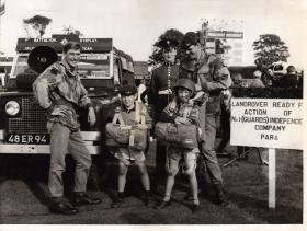 Guards at the 'Keeping The Army in The Public Eye' event, 1974