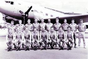 Members of Rhodesian Air Force, 1980.
