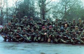 10 PARA recruit cadre 1983