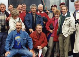 Guards Parachute Association Visit to Arnhem 1994
