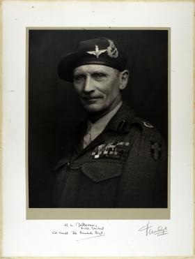 Large Portrait of Field Marshal Montgomery
