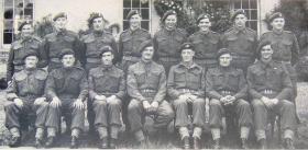 No 1 Section 1st Airborne Div Provost Coy, Stubton Hall, c June 1944.