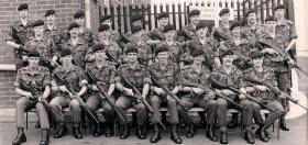 Members of 7 Field Regiment RHA, Northern Ireland, 1978