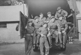 Permanent Staff PCAU No 1 PTS RAF Abingdon 1957