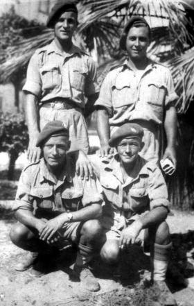 Members of HQ 1st Airborne Division, Tunisia, 1943.