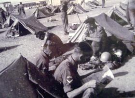 2 PARA's first camp in Egypt, c1952