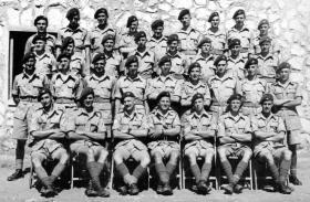 T Company, 1st Battalion, the Parachute Regiment, Palestine 1946.