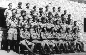 T Coy, 1st Battalion, the Parachute Regiment, Palestine 1946.
