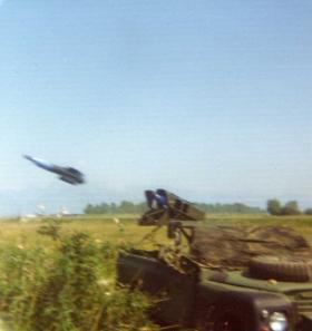 Vigilant Platoon live firing exercise, Italy c1974