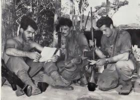 Members of 2 PARA in Sarawak, Borneo, 1965