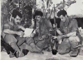 Members of 2 PARA in Sarawak, Borneo, 1965