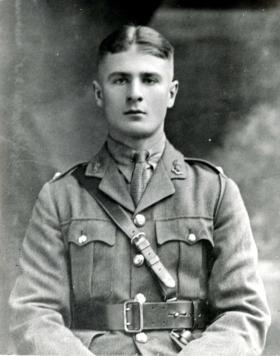 2nd Lt John Rock in 1925.