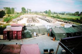 2 PARA, Main Camp. Macedonia, Aug-Sept 2001.