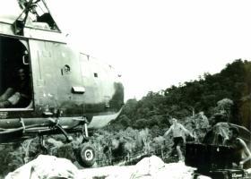 A Company 2 PARA, Heli-pad, Borneo, 1965.
