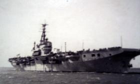HMS Warrior, c1951