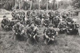 Group photo of A Coy 2 Para, 1974