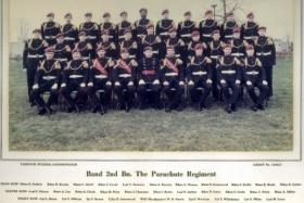Band of the 2nd Battalion The Parachute Regiment, early 1970s.