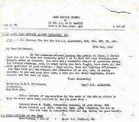 Camp Orders from CO, 4th Para Bn, Lt Col De V. Martin, 4 June 1945.