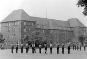 Arms drill practice, 2 PARA, Berlin, 1978.