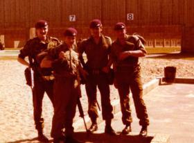 Members of 12 Pln, D Company, 2 PARA, Berlin Ranges, 1978/9.