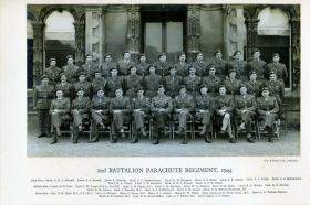 Group photograph of Officers of 2nd Para Bn, 1944
