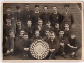 2 Para Boxing Team 1957-58