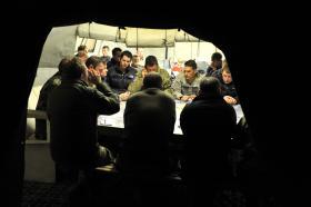 Briefing Room, 2 PARA, Afghanistan, 2011