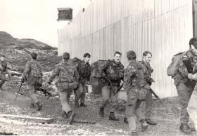 2 PARA Company rotation at Forkill, 1980-81.