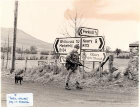 2 PARA, Forkhill, Northern Ireland, 1979-81.