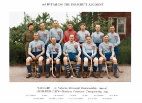 2nd Parachute Battalion Hockey Team 1944-45