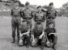 Intelligence Section, 2 PARA, Sarawak, Borneo, 1965.