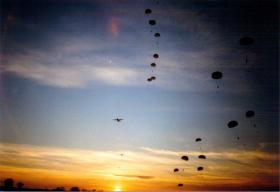 Loads of casualties for the DZ Med Team! 2 PARA, Keevil, 1989.