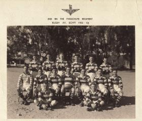 2 PARA Rugby XV Egypt 1952-53