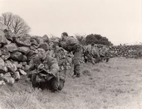 Members of 2 PARA in South Armagh, 1979-81.