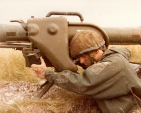 Bob Hood, Anti Tank Platoon, Support Company, 2 PARA, 1981.