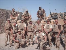 2 PARA X Coy Fire Support Group, Op Herrick 8, Afghanistan 2008.
